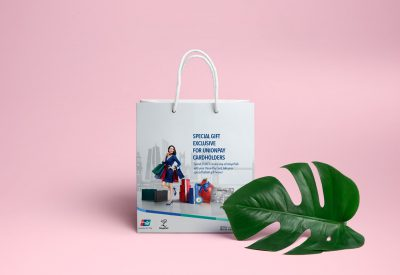 UnionPay International Shopping Bag