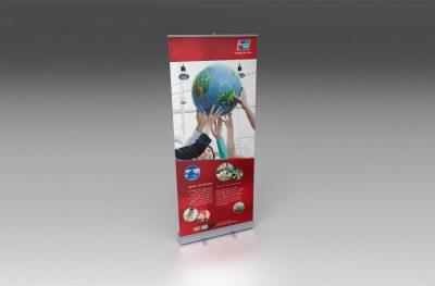 UnionPay International Roll-Up Banner