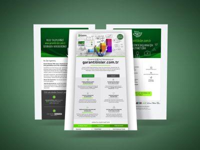 garantiliisler.com.tr newsletter çalışmaları